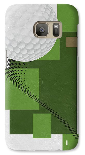 Golf Art Par 4 Galaxy S7 Case
