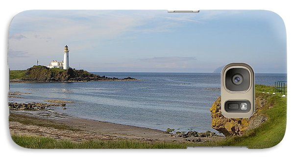 Galaxy Case featuring the photograph Golf At Turnberry Scotland by Jan Daniels