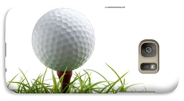 Golfball Galaxy S7 Case by Kati Molin