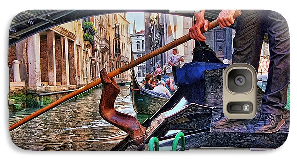 Galaxy Case featuring the photograph Gondola 2 by Allen Beatty