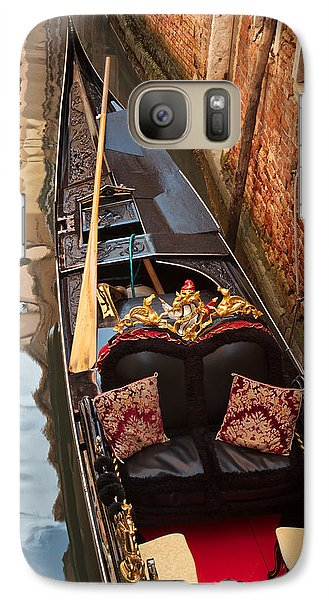 Galaxy Case featuring the photograph Gondola At Rest by Kim Wilson