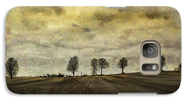 Galaxy Case featuring the photograph Gone Are Our Days Of Happiness.... by Russell Styles