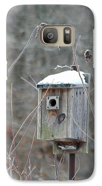 Galaxy Case featuring the photograph Gone South by Diane Merkle