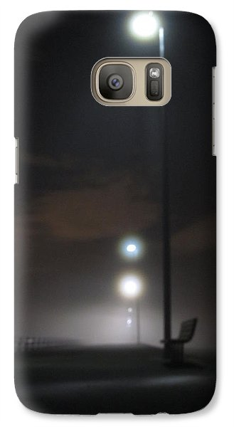 Galaxy Case featuring the photograph Gone To The Mist by Digital Art Cafe