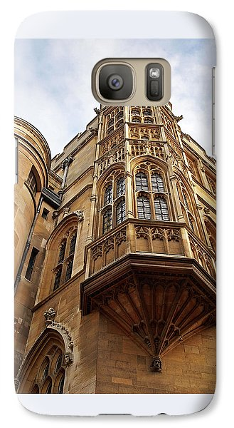 Galaxy Case featuring the photograph Gonville And Caius College Library Cambridge by Gill Billington