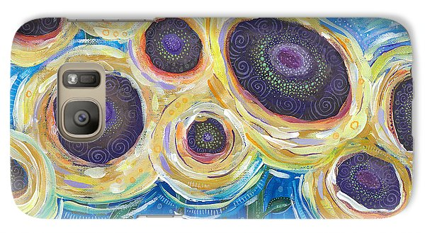 Galaxy Case featuring the painting Wild And Free by Tanielle Childers
