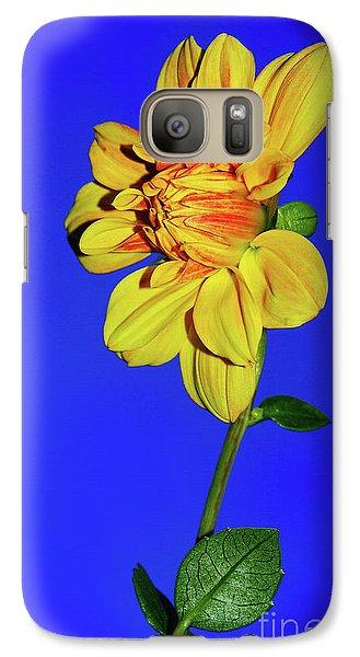 Good Morning Blue Sky By Kaye Menner Galaxy S7 Case by Kaye Menner