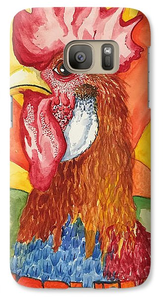 Galaxy Case featuring the painting Good Morning by Jame Hayes