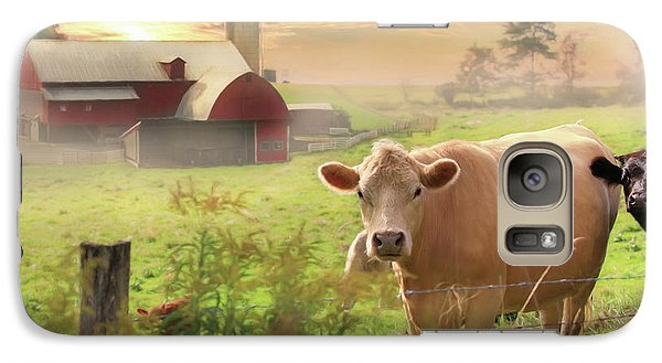 Galaxy Case featuring the photograph Good Morning by Lori Deiter