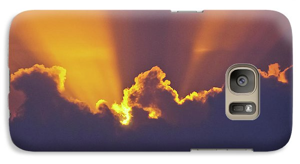 Galaxy Case featuring the photograph Good Night Sunshine by Terri Waters