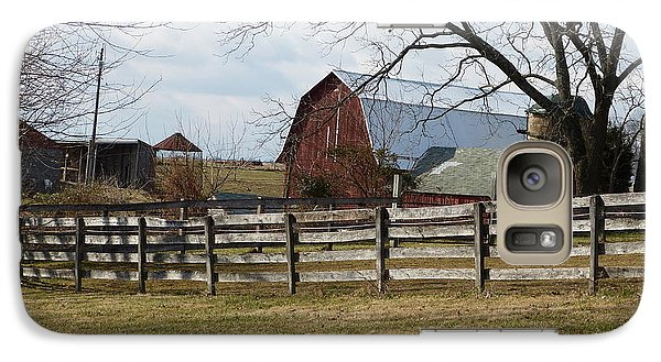 Galaxy Case featuring the photograph Good Old Barn by Donald C Morgan