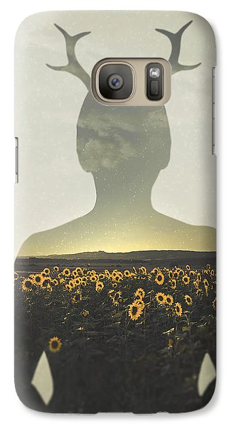 Sunflower Galaxy S7 Case - Goodbye Summer by Art of Invi