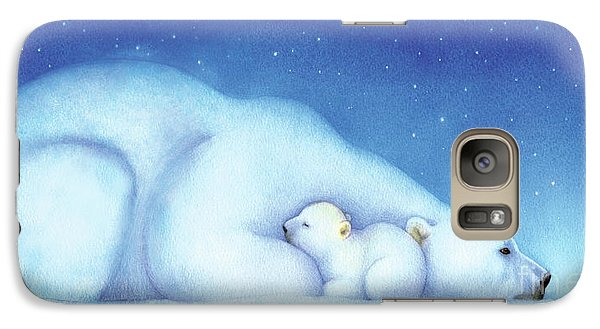 Arctic Bears, Goodnight Nanook Galaxy S7 Case by Tracy Herrmann