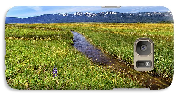 Galaxy Case featuring the photograph Goodrich Creek by James Eddy