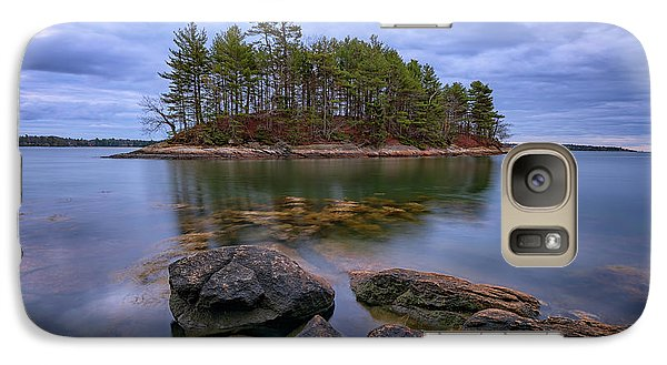 Galaxy Case featuring the photograph Googins Island by Rick Berk