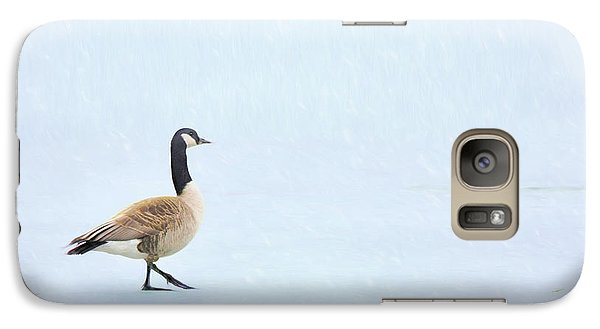 Galaxy Case featuring the photograph Goose Step by Nikolyn McDonald
