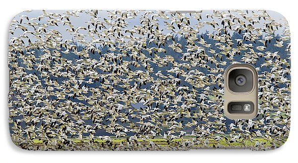 Goose Storm Galaxy Case by Mike Dawson