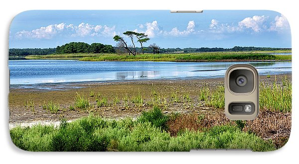 Galaxy Case featuring the photograph Gordons Pond At Cape Henlopen State Park - Delaware by Brendan Reals
