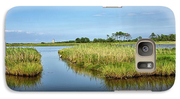 Galaxy Case featuring the photograph Gordons Pond - Cape Henlopen Park - Delaware by Brendan Reals