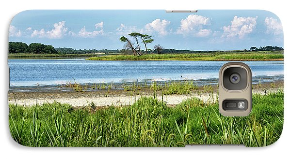 Galaxy Case featuring the photograph Gordons Pond - Cape Henlopen State Park - Delaware by Brendan Reals