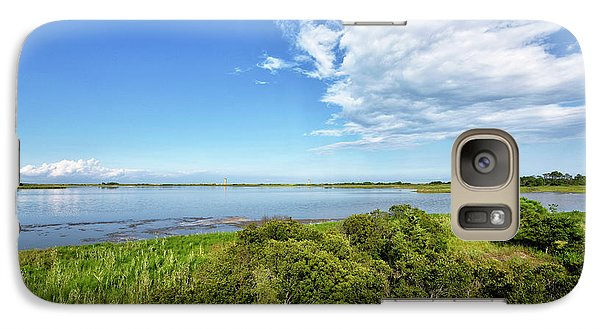 Galaxy Case featuring the photograph Gordons Pond Overlook - Cape Henlopen State Park - Delaware by Brendan Reals