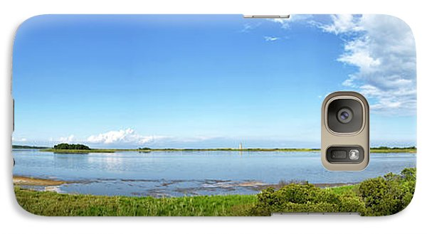 Galaxy Case featuring the photograph Gordons Pond Panorama - Cape Henlopen State Park - Delaware by Brendan Reals