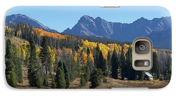 Galaxy Case featuring the photograph Gore Autumn by Aaron Spong