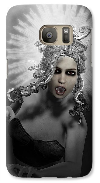 Gorgon Galaxy S7 Case by Joaquin Abella