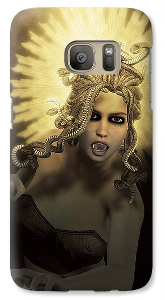 Gorgon Medusa Galaxy S7 Case by Joaquin Abella