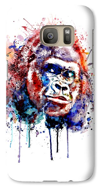Gorilla Galaxy S7 Case - Gorilla by Marian Voicu