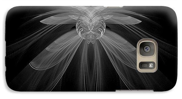Galaxy Case featuring the digital art Gossamer by Linda Whiteside