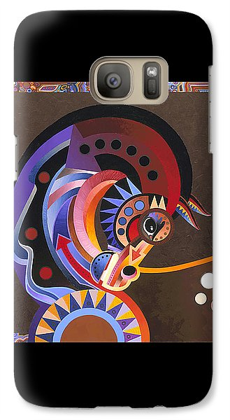 Galaxy Case featuring the painting Grace by Bob Coonts