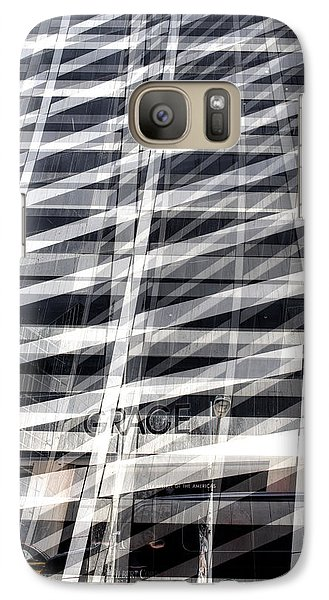 Grace Building Collage 2 Galaxy S7 Case