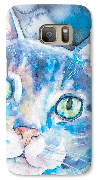 Galaxy Case featuring the painting Grace by Christy Freeman
