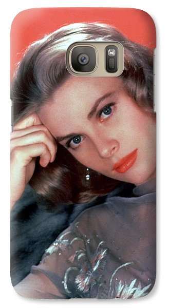 Grace Kelly Galaxy S7 Case by American School