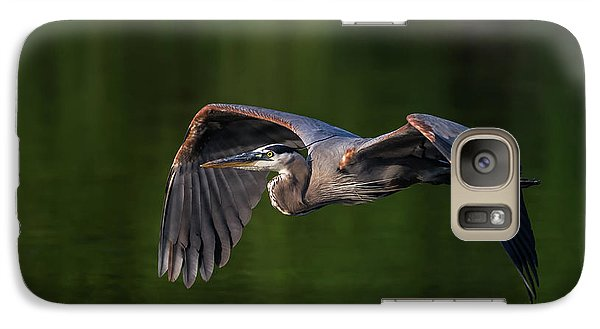 Galaxy Case featuring the photograph Graceful Flight by Everet Regal