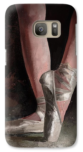 Galaxy Case featuring the digital art Graceful Slippers by Steve Goad