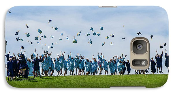 Galaxy Case featuring the photograph Graduation Day by Alan Toepfer