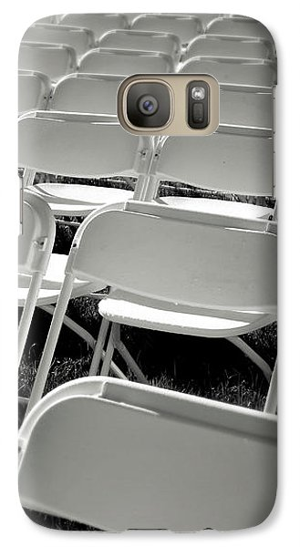 Graduation Day- Black And White Photography By Linda Woods Galaxy S7 Case