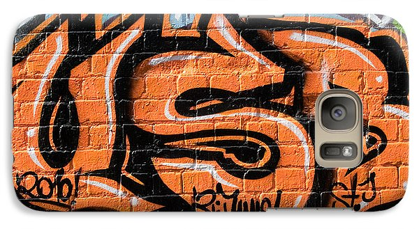 Galaxy Case featuring the painting Graffiti Wall.usb by Yurix Sardinelly