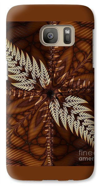Galaxy Case featuring the digital art Grain Harvest by Michelle H