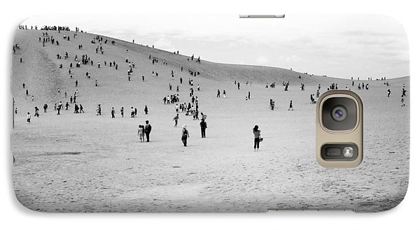 Galaxy Case featuring the photograph Grains Of Sand by Hayato Matsumoto