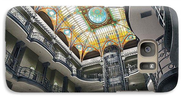 Galaxy Case featuring the photograph Gran Hotel by John  Bartosik