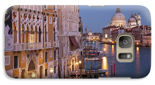 Galaxy Case featuring the photograph Grand Canal Twilight by Brian Jannsen