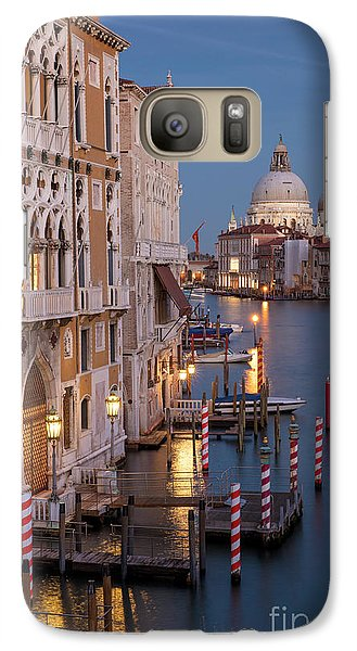 Galaxy Case featuring the photograph Grand Canal Twilight II by Brian Jannsen