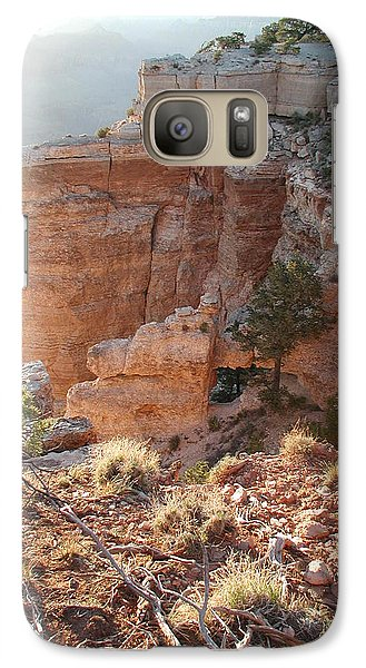 Galaxy Case featuring the photograph Grand Canyon Bluff by Nancy Taylor