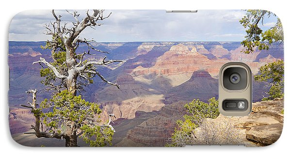 Galaxy Case featuring the photograph Grand Canyon View by Chris Dutton
