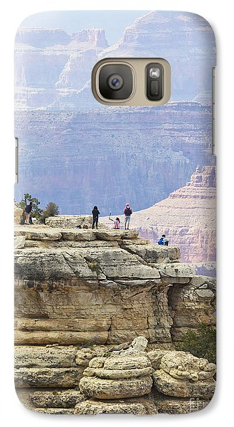 Galaxy Case featuring the photograph Grand Canyon Vista by Chris Dutton