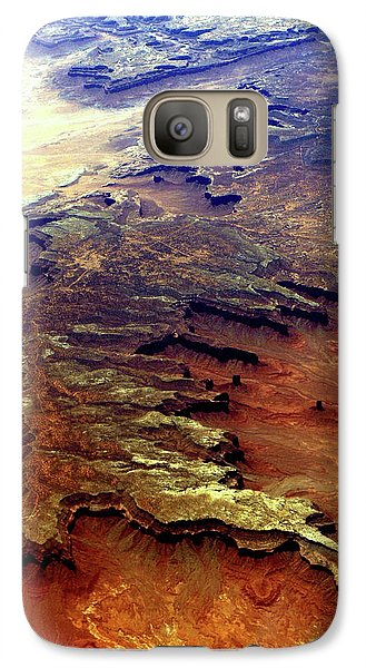 Galaxy Case featuring the relief Grand Canyon01 From 6mi Up by Irma BACKELANT GALLERIES