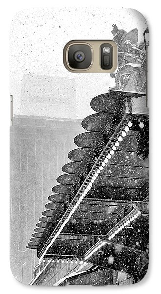 Grand Central Snow Day Galaxy S7 Case